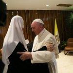 En estos momentos tiene lugar la reunión del Papa Francisco y Patriarca Kirill en #Cuba #CubaEsPaz https://t.co/ThqrpMrg75