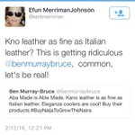 Our mentality has to change! Where do you think Italy buys the skins they turn to leather? #BuyNaijaToGrowTheNaira https://t.co/A2fmssYrVN