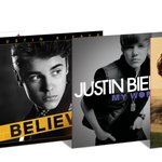 RT + FOLLOW TO WIN @justinbiebers first 4 albums on vinyl for the first time EVER! Ends 2/17. Good luck! https://t.co/2xzENOwLRZ