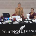 #YoungLiving member Chris shared some knowledge about #EssentialOils @cityofpensacola Health Fair https://t.co/mn6GMwyLhf