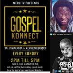 @ephysaf Tune in @MeruTVkenya  2-5 pm every Sunday With @Rafikiwakanga and @KennieTheDancer #GospelKonnect https://t.co/mm0qZviluQ