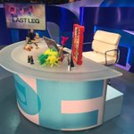 Theres a brand new set for our brand new series of @thelastleg! One hour klaxon! #isitok https://t.co/TVSLUcpgx9