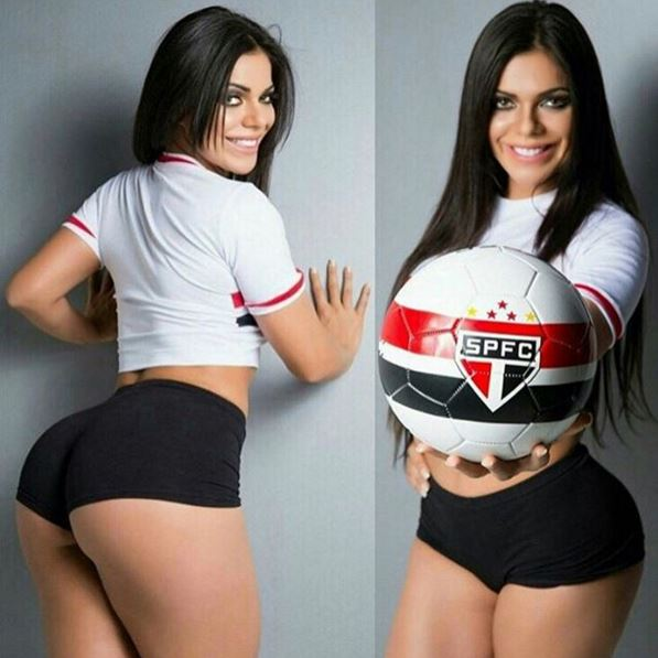RT @portaldaband: FOTOS - Miss Bumbum é apaixonada pelo São Paulo e comemora vaga na Libertadores  https://t.co/NgCQTJXBag https://t.co/cmU…