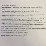 Este balance demuestra que América de Cali, es el rey de los jugadores inactivos en Colombia https://t.co/ZlYqWdJ62j