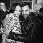 Rihanna and @MarianoVivanco. #FENTYxPUMA https://t.co/0yBq6T5qp3