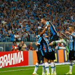 Maiores goleadas do #Grêmio na Arena: 5-0 Inter (2015) 4-0 Aimoré (2014) 4-1 Inter (2014) 4-1 Caracas (2013) https://t.co/nowX57GC4X