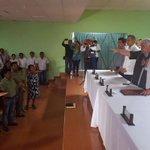 Toma protesta como nuevo secretario general del Sindicato de los Tres Poderes, José Urueta Moha. https://t.co/ATbIfOfrQo