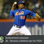 Jenry Mejia is the first MLB player ever to receive a lifetime ban for performance-enhancing drugs. https://t.co/TbquuUdEkD