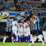 Fim de jogo! No jogo de número 100 do #Grêmio na Arena, a vitória foi do São José por 2 a 0. Zequinha é líder. https://t.co/5xSnZkwcJy