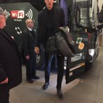 .@kporzee off the bus & has arrived for the #BBVARisingStars game! #KnicksTOthe6 https://t.co/KZP0iGfAlp