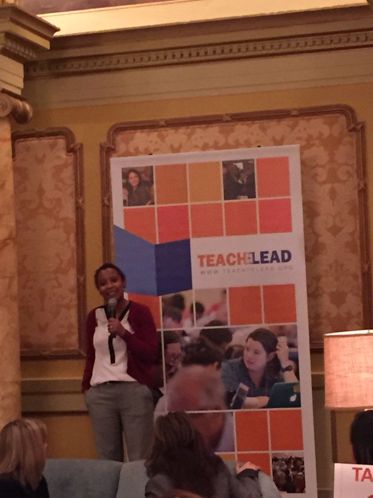 """Teacher leadership is the strongest strategy for retention that we have, giving teachers a voice"" #TTLSummit https://t.co/OXDbQuNU48"