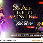 Hey fam I ll be live in @sinach Live In Concert, Feb14 Abuja, If you are Abuja...dont dull..#PraiseAndRecieve https://t.co/3avx7Vi7Ss