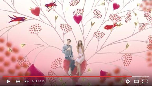 ゴディバのバレンタインCMはどうして背景をコウジカビにしているんだろう? https://t.co/6Eb575wgvJ
