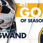 Legwand from Deslauriers! All tied up 1-1! #MTLvsBUF https://t.co/OPLnQ9idO1