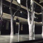 Happening now: The set at @Pumas Fenty by @Rihanna show (????: @jessiredale) https://t.co/UuG2ZJivYL