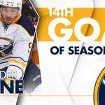 🚨🚨 #82 sets up Kane, and its 2-1 Buffalo! 17.8 seconds left in the 1st. #HereWeGoNow https://t.co/ovCNKfLeW5
