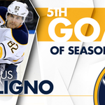 🚨🚨🚨🚨 Marcus Foligno is in the right place... puck deflects off him, 4-1 SABRES! https://t.co/ZfoSR439MM