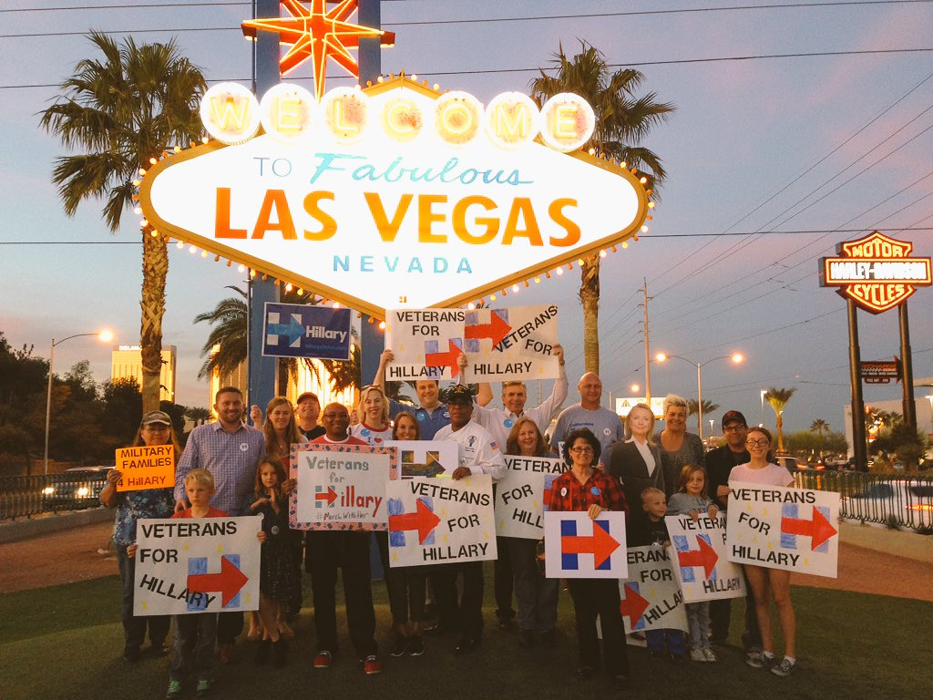 Veterans and Military Families for Hillary - we have her back because she always has ours! #MarchWithHer https://t.co/O6b7u4GgNr