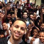 MVP selfies on #NBAAllStarTO Weekend. ???? #PlayForMore https://t.co/Lmqwiz4yAU