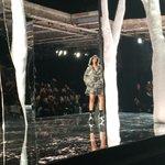 Rihanna taking her bow after her Fenty Puma show #NYFW https://t.co/RkBIb5vu7z