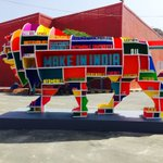 Vibrant, colourful and dynamic...the Lion invites the world to #MakeInIndia. https://t.co/jGs7LPERu9