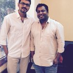 Met @actorvijay sir. A wonderful meet and a humble human being. Looking frwd to work with him. #vj60 https://t.co/2MErw8CDhg
