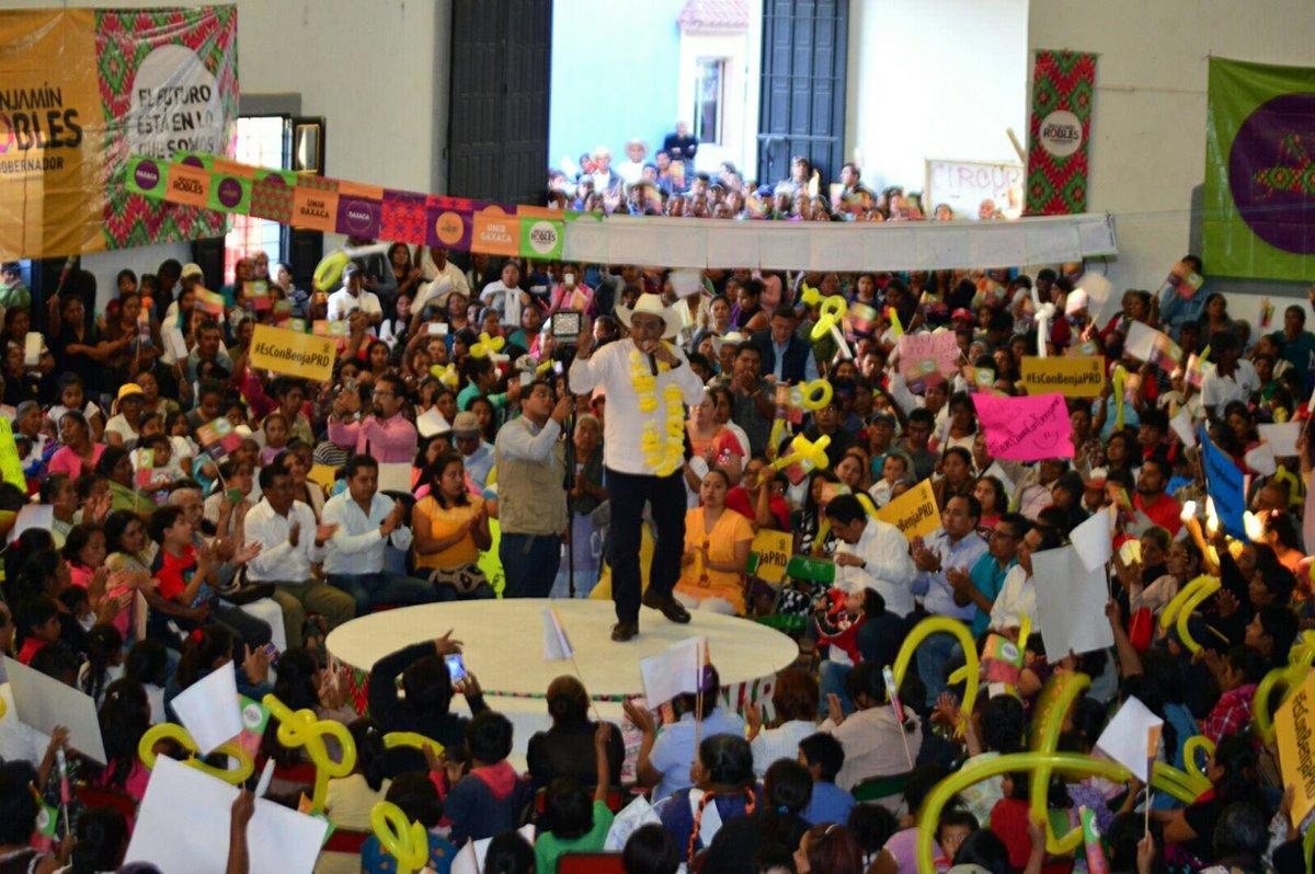 Guadalupe, Etla fue la sede elegida por las y los simpatizantes para aglutinar a fuerzas perredistas del Valle Eteco https://t.co/SILfKkdd7a