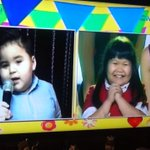 Ryzza & Baby Baste as young ALDUB...so cute!!! #ALDUBValentinesDate https://t.co/D46tUhFMbK