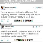 My Fellow Indians dont Get Surprised If we Come to know that JNU Drama was Funded by @ArvindKejriwal & @OfficeOfRG https://t.co/sfj9VC0A6a