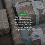 Bila nak memberi. #nakbebel https://t.co/6sVrCMNGCL