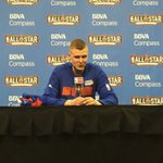 """""""It was a high-scoring game, as you all saw..."""" -- @kporzee #BBVARisingStars #KnicksTOthe6 https://t.co/GYp6tDbzyU"""