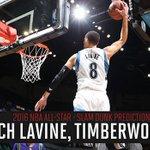 Zach LaVine named #BBVARisingStars MVP. Will he win Slam Dunk? He's @BenGolliver's pick https://t.co/XJENgkIMde https://t.co/hQQha7ksAN