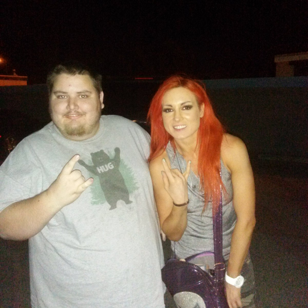 Thanks for taking a pic with me at PWG Bowie @BeckyLynchWWE https://t.co/VJRLwOrEvy