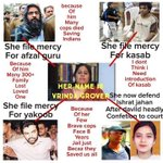 """My Name Is """"Vrinda Grover""""... And... I am Not Terrorists... Supporter ???????????? https://t.co/kRQy7eNsdB"""