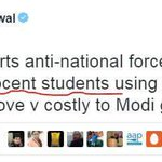 """Whoaa #JNU Students are Innocent! . Yeah Just Like @ArvindKejriwal is """"Honest"""" & @SunnyLeone is """"Virgin"""" #IndiaFirst https://t.co/bTJSOlAln7"""