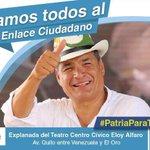 ‼️AGENDA PRESIDENCIAL‼️Guayaquil sábado 13.02.16. #MaestrosPorLaRC #Enlace462 @MashiRafael #TuiterosEcuatorianos https://t.co/caq5upgNdC