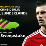 Guess how many interceptions Morgan Schneiderlin will make vs Sunderland & win his signed boots. #SquawkaSweepstake https://t.co/O7PWvFVqjd