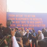Prime Minister @narendramodi welcomes the world to #MakeInIndia #MakeInIndia Centre @PMOIndia https://t.co/3tzX3fOGUs