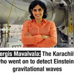 Pakistan born Nergis is the only woman in the team which made the first direct gravitational wave observation. 🇵🇰 https://t.co/6cy4ggEQbG
