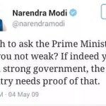 I wish to ask PM @narendramodi are you not weak ? If indeed strong order Attack on terrorist camps.. Destroy it. https://t.co/B2Gq5bXzgu
