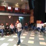 Arranca la Jornada #BilborockLab con la intervención de Mari Jose Miralles, del Área de Juventud del Ayo de Bilbao. https://t.co/ho0GPLktQT