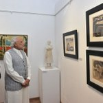 Inaugurated the new building of the Bombay Art Society. https://t.co/ysMz6pEa6M