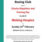 Charity skipathon & training day in aid of @WSBHospices tomorrow!! #woking #charity #fundraising https://t.co/uacf0dsSdB