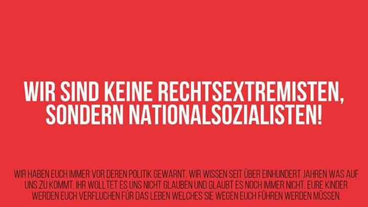 RT @AN_Berlin23: Was wir noch loswerden wollten. Es gibt ein Recht auf #Nazipropaganda.☝ https://t.co/nthypjFL14