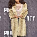 SZA attended the Puma by Rihanna fashion show last night! https://t.co/6riWNzCFHl