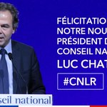 Félicitations à notre nouveau Président du #CNLR : @LucChatel ! https://t.co/i3GZ6neCHe
