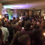 """£360 raised for Cancer Research at David Bowie """"live"""" tribute #surreychat hosted by @GTLiveSessions https://t.co/v5adXEC5Hd"""