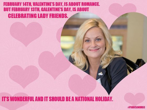 #GalentinesDay WORDS TO LIVE BY LADIES! (slightly over-caffeinated use of the capital letters...) cc: @smrtgrls https://t.co/mX52uRqVTE
