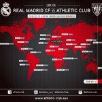 ✈️ @realmadrid - #Athletic Club 📅 Hoy 🕙 16:00 📺 C+ Liga / Abono fútbol #RMAvATH  Horarios alrededor del mundo https://t.co/Y1vd8xt4HG