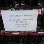 Black Label 340 ml  6pack P28.95 😀😀😕😕 https://t.co/Ej0hGQMAlo